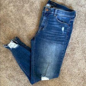 Forever 21 Plus Size Distressed Jeans Sz 12